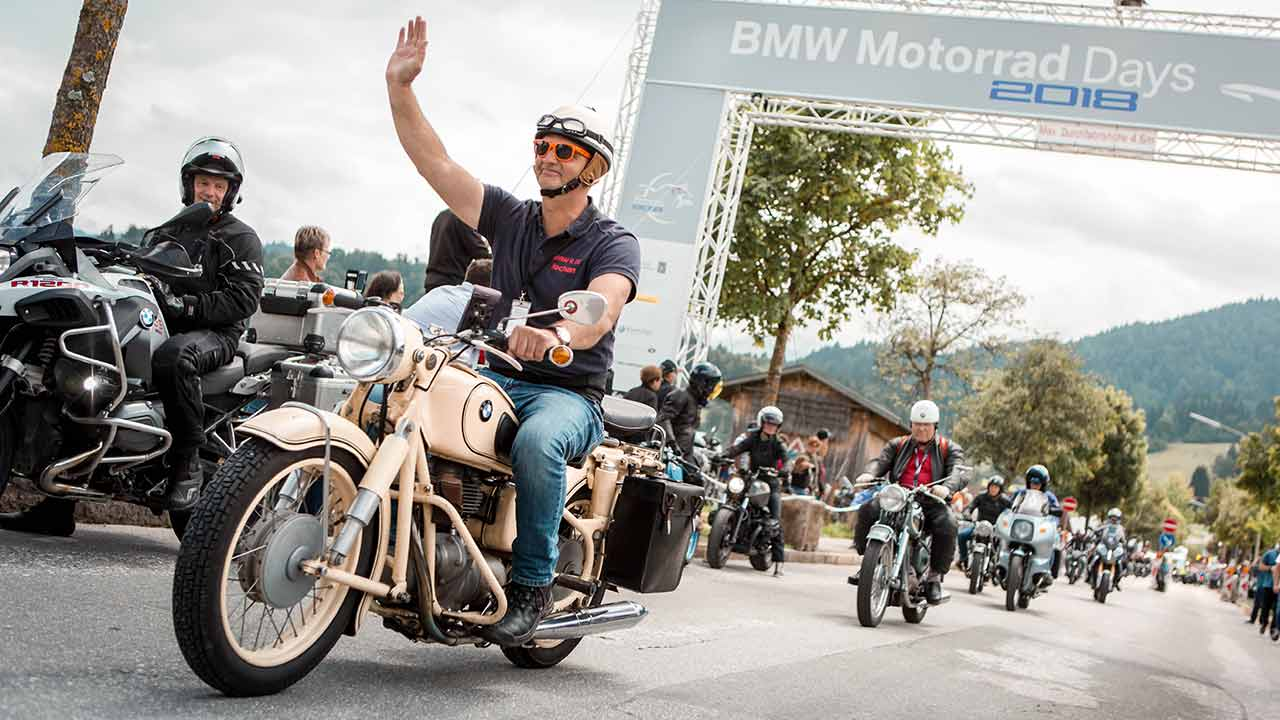 Bmw Motorrad Days 19 Auflage In Garmisch World Of Bike